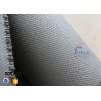 Buy cheap Home Fire Safety Blanket 1600g 1.3mm Grey Silicone Coated Fiberglass Fabric from wholesalers