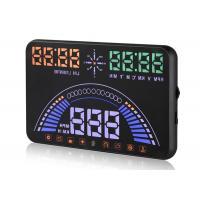 Universal  5.8 Inch Audi S7 GPS Heads Up Display Single Driving KM Mile Compass HUD