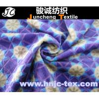 Buy cheap 100% polyester printed burnout velboa fabric/ printing / fabric printed/bedding sheet from wholesalers