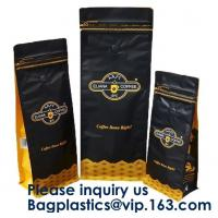 Buy cheap Box Bottom Bags Stand up Pouch Side Gusset bag Flat Bags Twist Film,RICE PACKAGING BAGS, chocolate packaging pouch bag from wholesalers