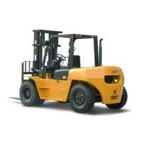 Buy cheap Hangcha Brand Warehouse Stacking 5T Diesel Forklift Truck With Isuzu Engine from wholesalers