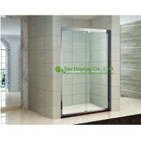 China Shower room In-line two sliding shower cabin,hanging rollers shower door,Stainless Steel Glass shower units sale on sale