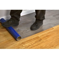 Buy cheap No Glue Residue 1.2m 0.05mm Temporary Floor Covering Heat Proof from wholesalers