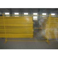 Buy cheap Residential Safety Temporary Construction Fence Panels Excellent Rust Resistance product