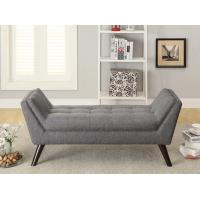 Buy cheap Solid Wood Legs Upholstered Bench Seat ,  Upholstered Bedroom Bench Polyester from wholesalers