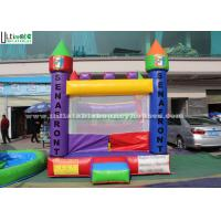 Buy cheap Backyard Kids Inflatable Jumping Castles With Custom Made Logo from wholesalers