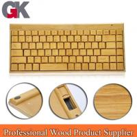 Buy cheap Hottest Wireless wood keyboard and mouse from wholesalers
