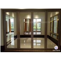 Buy cheap Australia Style Aluminium Casement Doors , Aluminum Sliding Patio Doors With Tempered Frosted Glass from wholesalers