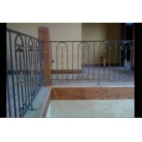 Buy cheap Decorative Stairs and Railings Wrought Iron Handrails from wholesalers