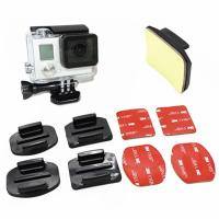 Buy cheap GP10 Flat Curved Base Mount 3M VHB Stickers For GoPro Hero 6 5 3 4 Session Xiaomi Yi 4K EKEN H9r Mount Accessories Set from wholesalers