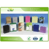 Buy cheap Hot Foil Stamping Custom Printed Paper Bags for Shopping Mall / Supermarket from wholesalers
