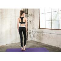 Buy cheap Sexy Custom Ladies Yoga Wear , Durable 4 Way Stretch Yoga Workout Clothes product