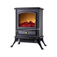 Buy cheap Home Use Flueless 1500W Free Standing Electric Fireplace , Contemporary Electric Fireplace from wholesalers