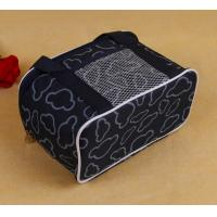Buy cheap Cooler Bag,Black Pattern Print Thermal Insulation Fabric Bag,Family Size Picnic Cooler Bag Wholesale from wholesalers