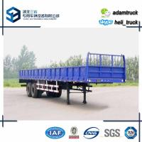Buy cheap Trailer Load 30T 35 T Double Axle Cargo Smei Trailer Box Length  11 m from wholesalers