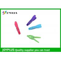Buy cheap Colorful Plastic Clothes Pegs Clips For Hanging Clothes OEM / ODM Acceptable from wholesalers