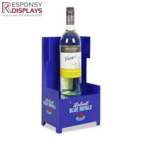 Buy cheap Sales Promotion Wooden And Acrylic Wine Shop Counter Table Design Display Rack For Store from wholesalers