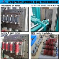 Buy cheap Low noise epoxy injection machine for Medium Voltage Instrument Transformer from wholesalers