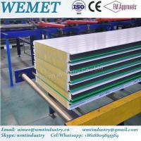 Buy cheap New Type glass wool fire proof insulated wall panel for steel warehouse from wholesalers