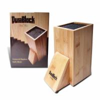 Buy cheap Durable Bamboo Knife Block Customized Size High Strength Free Of Heavy Metals from wholesalers