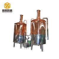 Buy cheap Red Copper Mini Micro Beer Brewing Equipment 3HL Semi Auto / Automatic Control from wholesalers