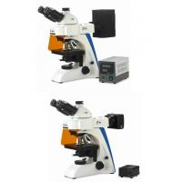 Buy cheap Fluorescent Light Microscope , LED Fluorescence Microscope 100V - 240V Input Voltage from wholesalers