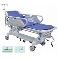 Buy cheap Height Adjustable Mechanical Transport Stretcher Trolley For Hospital Disabled from wholesalers