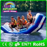 Buy cheap Inflatable floating water seesaw pool seesaw for toddlers inflatable floating water game from wholesalers
