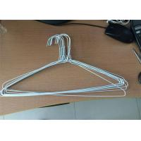 Buy cheap Silver Color Galvanized Metal Wire Hangers Variety Styles Fit Men And Women Suits from wholesalers