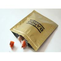 Buy cheap Glossy 3 Side Seal Plastic Pouch Packaging / Aluminum Foil Packaging Bags from wholesalers