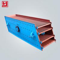 Buy cheap Indsutrial Vibratory Screen Separator / Stone Crusher Vibrating Screen 32-276m³/h from wholesalers