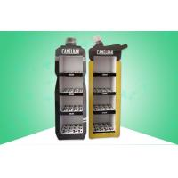 Buy cheap Bottle - Shape Free Standing Display Units Cardboard 4 Shelf Easy Assembly from wholesalers