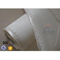 China 1200gsm 1.3mm Fiberglass Fabric High Silica Cloth For Welding Blanket on sale