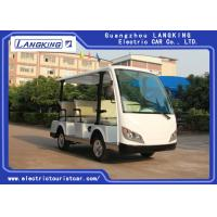 Buy cheap Customized Small Electric Utility Vehicles , 8 Person Electric Passenger Bus from wholesalers