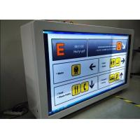 Buy cheap High Definition Transparent LCD Showcase Customized Scratch Proof For Advertising from wholesalers