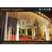 Buy cheap CE ROHS Wedding Fairy Light Curtain , 3m * 3m Connectable Curtain Lights from Wholesalers