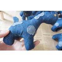 "Buy cheap 6"" Pony children Stuffed homemade unique denim toys gifts for home decoration product"