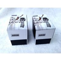 Buy cheap Cardboard Packing Gift Boxes For Watch , Cardboard Storage Boxes Black And White Color from wholesalers