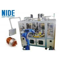 Buy cheap Air Conditioner Stator Winding Inserting Machine 4 Working Station 380v 50 / 60hz from wholesalers