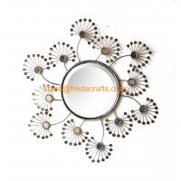 Buy cheap China Supplier Metal Framed Acrylic Decorated Wall Mirror Bevelled edge Mirror from wholesalers
