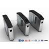 Buy cheap Stadiums Fingerprint Optical Turnstile / Entrance Turnstiles Swing Barrier Brushed from wholesalers