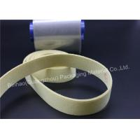 Buy cheap Woven / Boned Kevlar Aramid Fabric Garniture Tape For Conveyor Belts Waterproof from wholesalers