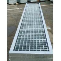 Buy cheap Big Span Metal Bar Grating , High Strength Steel Floor Grating For Platform from wholesalers