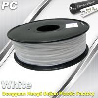 Buy cheap PC Filament for Markerbot 1.75mm / 3.0mm Filament 1.3 Kg / Roll from wholesalers