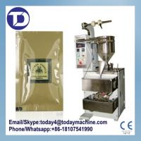 Buy cheap Automatic shampoo packaging machine with date printer from wholesalers