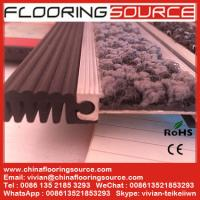 Buy cheap Heavy Duty Aluminum Floor Mat  Rubber Connection Easy roll-up for safety entrance from wholesalers