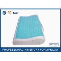Buy cheap Pure Comfort Luxry Gel Memory Foam Cooling Bed Pillow For Home Bedding / Hotel from wholesalers