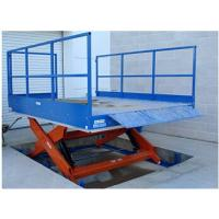 Buy cheap 6T Hydraulic Cargo Lift Table For Lifting 1.85m With 0.5 Minimum Height from wholesalers