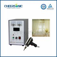Buy cheap Customized Household Curtain Ultrasonic Cutting Equipment / Machine from wholesalers