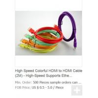 Buy cheap High Speed Colorful HDMI to HDMI Cable (2M) - High-Speed Supports Ethernet, 3D and Audio R from wholesalers
